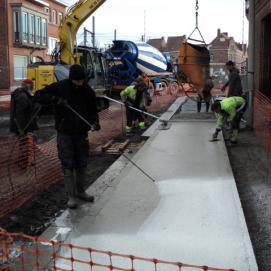 Flandres Beton Dunkerque vrd réalisations